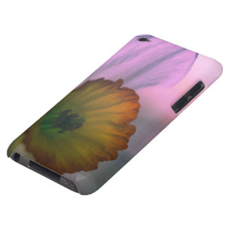 Narcissus Petals - white yellow flower photography iPod Touch Case-Mate Case