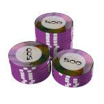 Narcissus Petals - white yellow flower photography Poker Chips Set