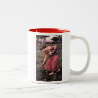 Narcissus Picking Flowers in the Meadow Coffee Mugs