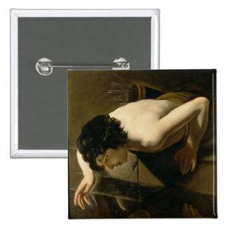 Narcissus Pinback Button