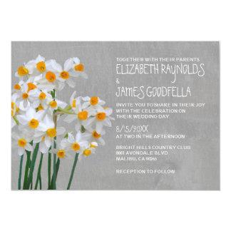 Narcissus Wedding Invitations