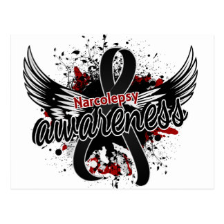 Narcolepsy Awareness 16 Postcard