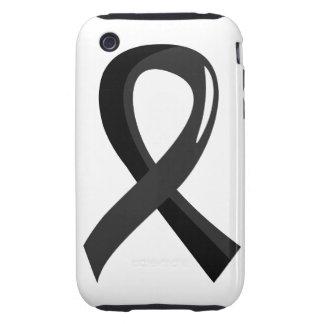 Narcolepsy Black Ribbon 3 Tough iPhone 3 Cover