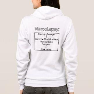 Narcolepsy Hoodie:Like FairyTale, has Happy Ending Hoodie