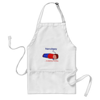 Narcolepsy...involuntary Planking Adult Apron