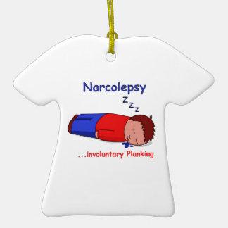 Narcolepsy...involuntary Planking Christmas Tree Ornaments