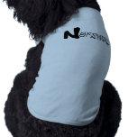 NARCOLEPSY: NO camiseta grande del perrito de ALON Camisetas De Mascota