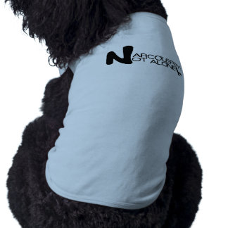 NARCOLEPSY: NO camiseta grande del perrito de ALON Playera Sin Mangas Para Perro