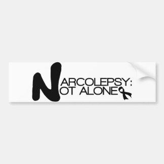 NARCOLEPSY: NOT ALONE™ Bumper Sticker