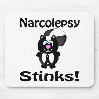 Narcolepsy Stinks Skunk Awareness Design Mouse Pad
