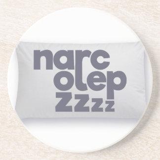 Narcolepsy zzz drink coaster