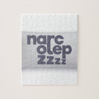 Narcolepsy zzz jigsaw puzzle