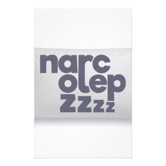 Narcolepsy zzz stationery