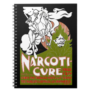 Narcoti-Cure Spiral Notebook