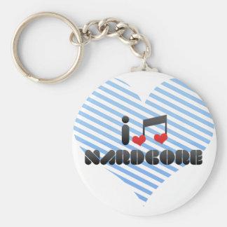 Nardcore fan keychains