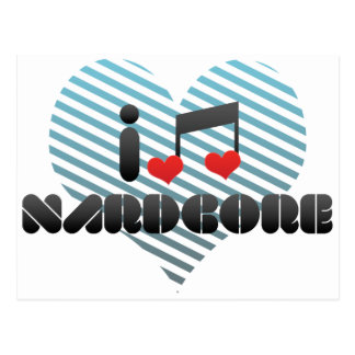 Nardcore fan postcard