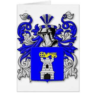 Nardo Coat of Arms Card