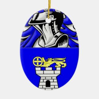 Nardo Coat of Arms Ceramic Ornament