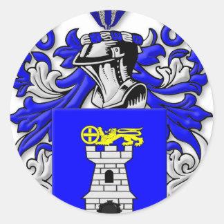 Nardo Coat of Arms Classic Round Sticker