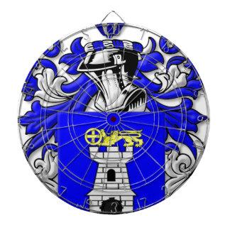 Nardo Coat of Arms Dartboard With Darts