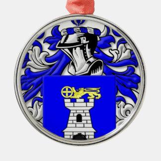 Nardo Coat of Arms Metal Ornament