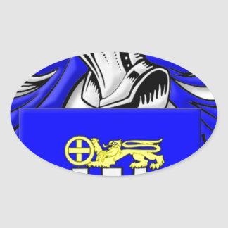Nardo Coat of Arms Oval Sticker