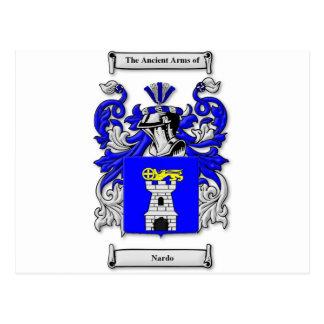 Nardo Coat of Arms Postcard