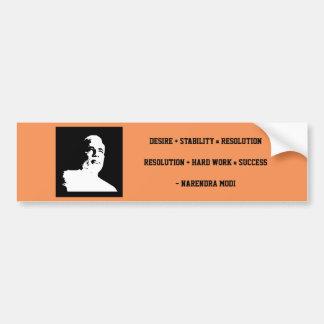 Narendra MODI Bumper Sticker