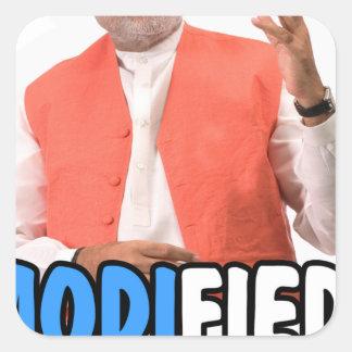 Narendra Modi Collection Square Sticker