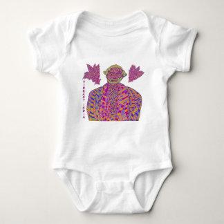 Narendra Modi Psychedelic Baby Bodysuit