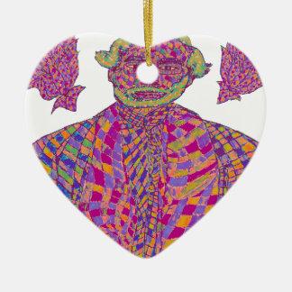 Narendra Modi Psychedelic Ceramic Ornament
