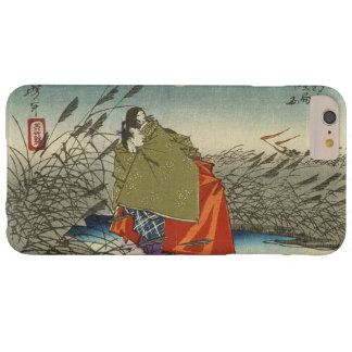 Narihira and Nijo no Tsubone at the Fuji River Barely There iPhone 6 Plus Case