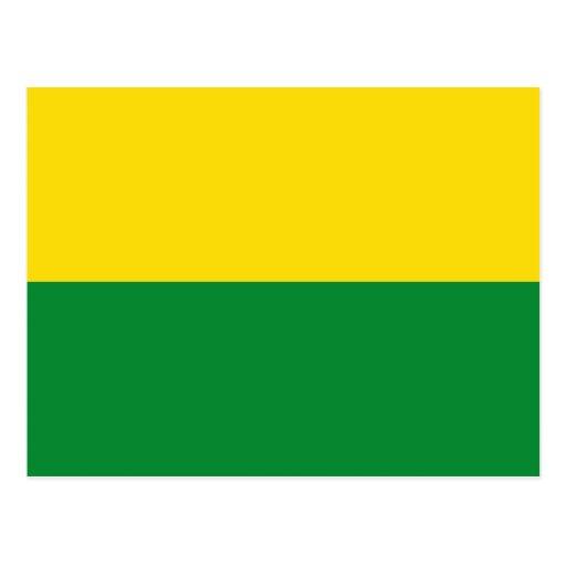 Narino, bandera de Colombia Tarjetas Postales