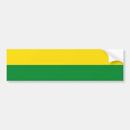 Narino Department, Colombia flag Bumper Sticker