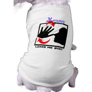 nariz de desaire (versión animal) camisetas de perrito