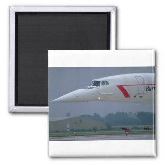 Nariz de la aguja de British Airways Concorde Iman De Frigorífico
