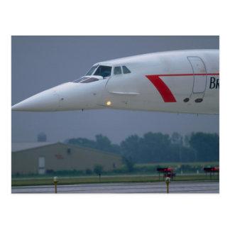 Nariz de la aguja de British Airways Concorde Tarjetas Postales