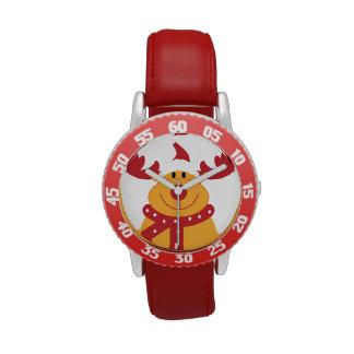 Nariz de Rudolph… Relojes