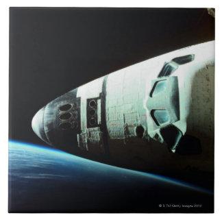 Nariz de un transbordador espacial azulejo ceramica