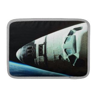 Nariz de un transbordador espacial funda para macbook air