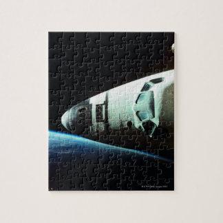 Nariz de un transbordador espacial rompecabeza