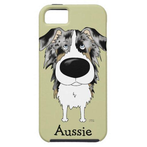 Nariz grande Aussie iPhone 5 Carcasas
