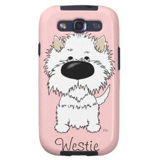 Nariz grande Westie Samsung Galaxy S3 Carcasas