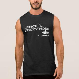 Nariz pegajosa 001 camiseta sin mangas