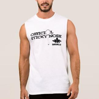 Nariz pegajosa 002 camisetas sin mangas