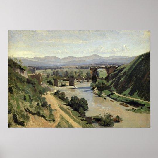 Narni, The Bridge of Augustus over the Nera Poster