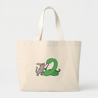 Narnia MvP Logo Large Tote Bag