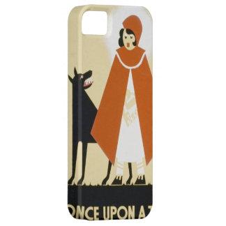 Narración de cuentos - capa con capucha roja funda para iPhone SE/5/5s