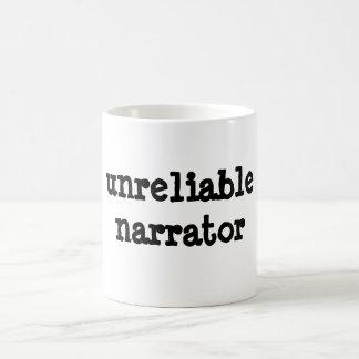 narrador no fiable taza clásica