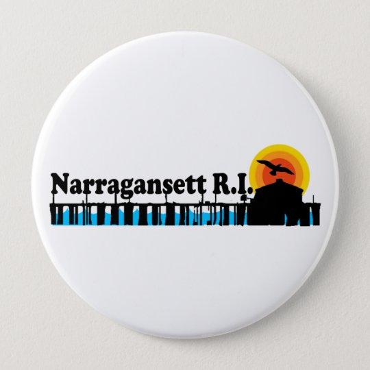 Narragansett. Button